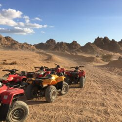 Escursione in quad, un modo alternativo di vivere il deserto